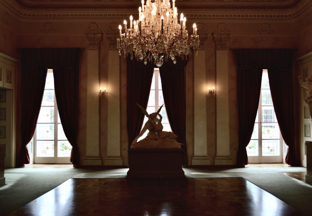 Interiér zámku Kynžvart