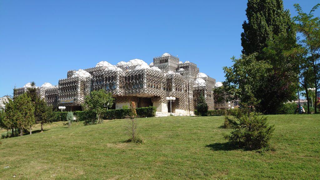 Knihovna v Prištině